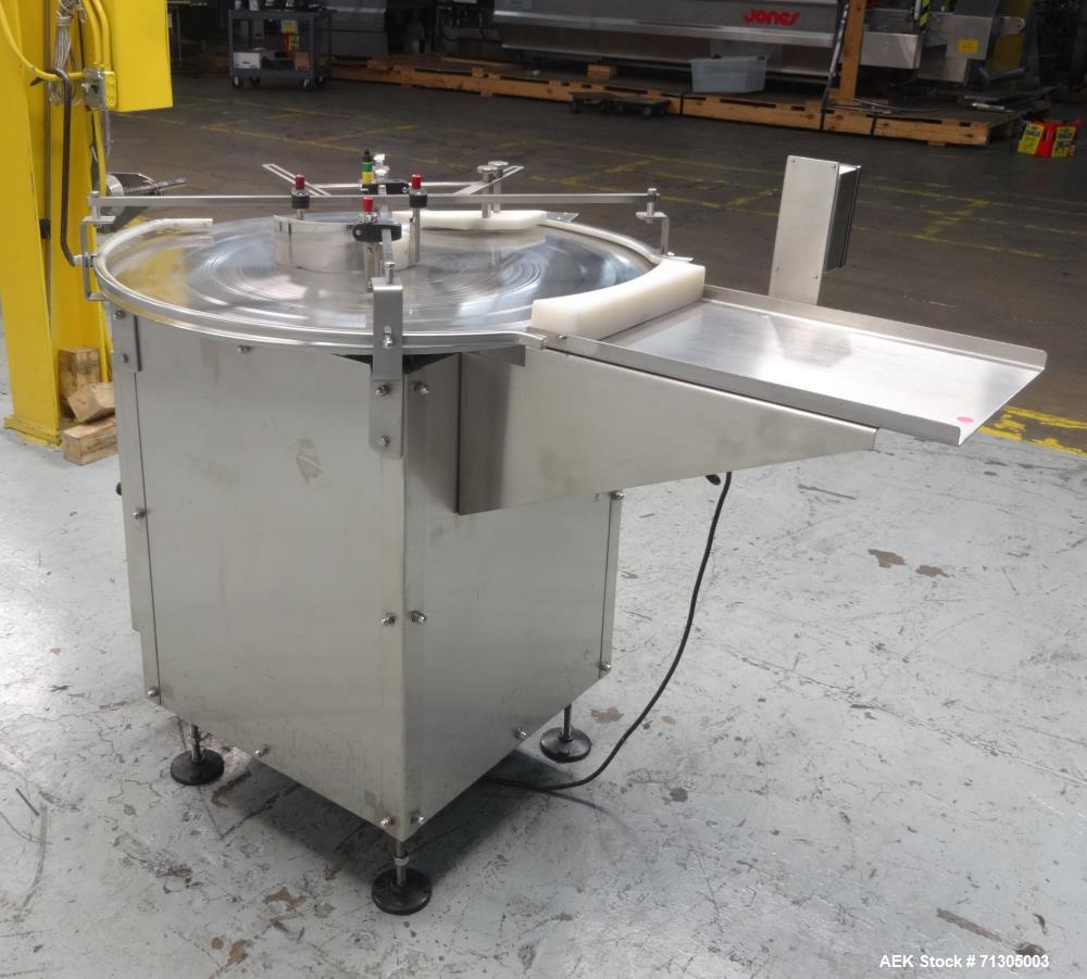 Used-  Rotary Accumulation Table