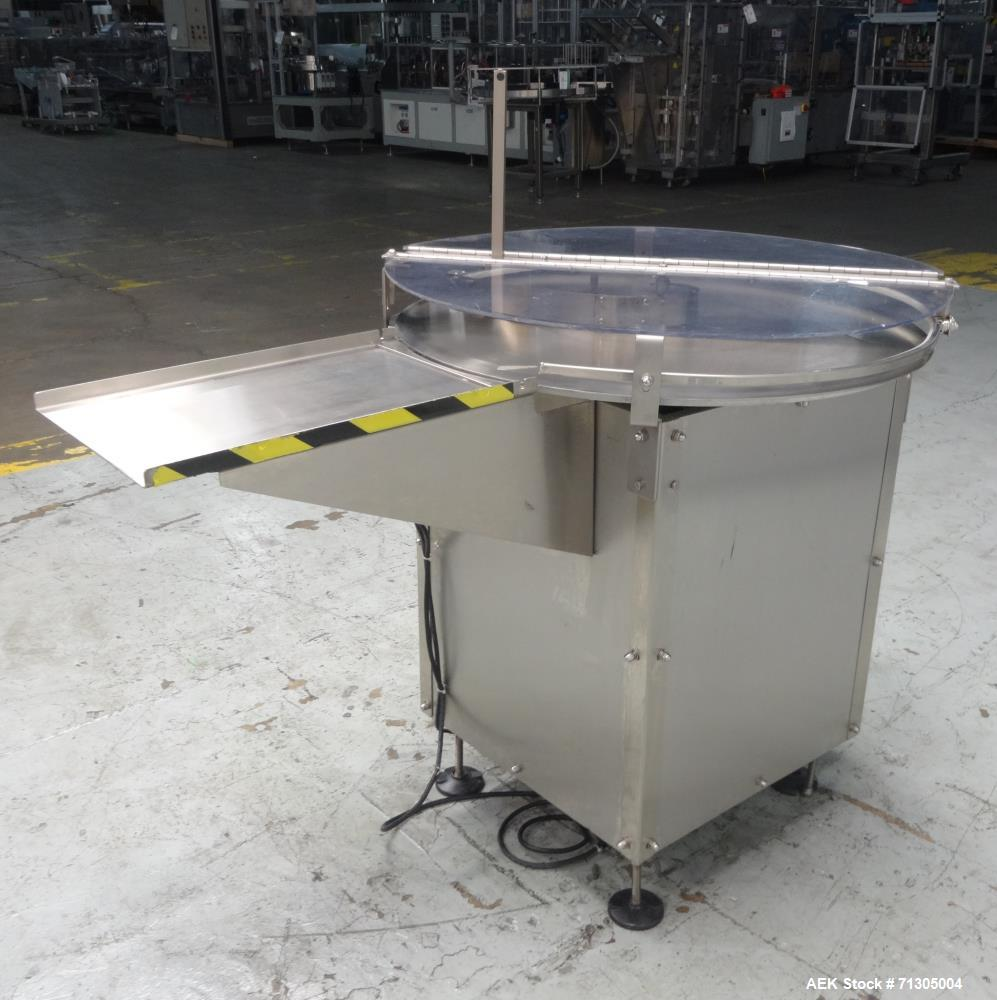 Used- Inc Rotary Accumulation Table