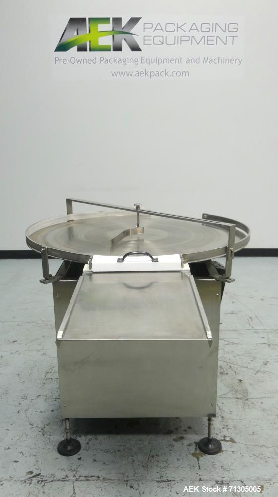 Used-Inc Rotary Accumulation Table