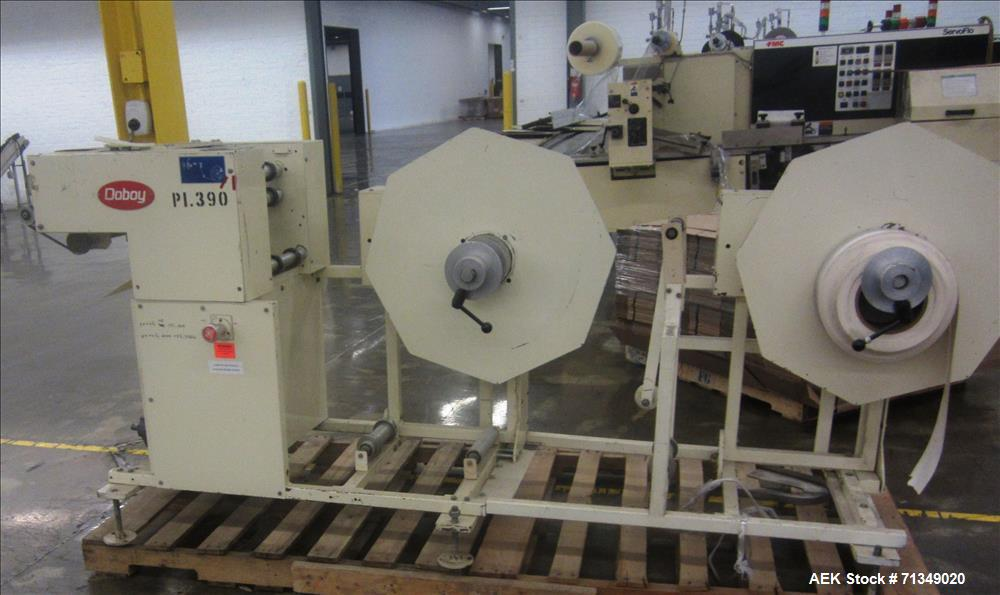 Used- Doboy Heavy Duty Card Sheeter and Feeder