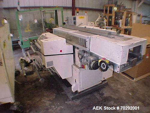 Used- BFB 3711 (6) sided overwrapper and bundler capable of speeds up to 110 packeges per minute. Package size range: (Lengt...
