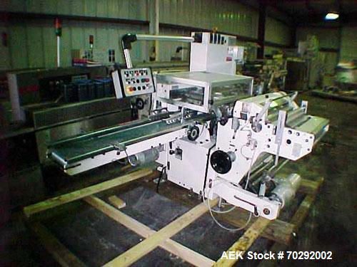 Used- BFB 3711 (6) sided overwrapper and bundler capable of speeds up to 110 packages per minute. Package size range: (Lengt...