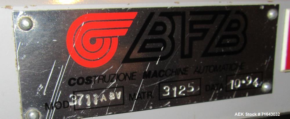 Used-BFB Carton Bundler Model 3711ABV, Stainless Steel. Built: 1994. Serial no.: 3125