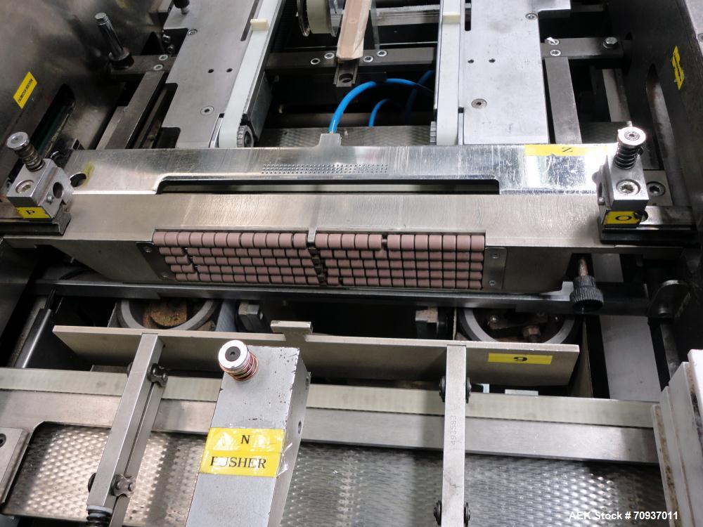 Used- BFB (IMA) Model AC-120 Diefold Carton Over Wrapper