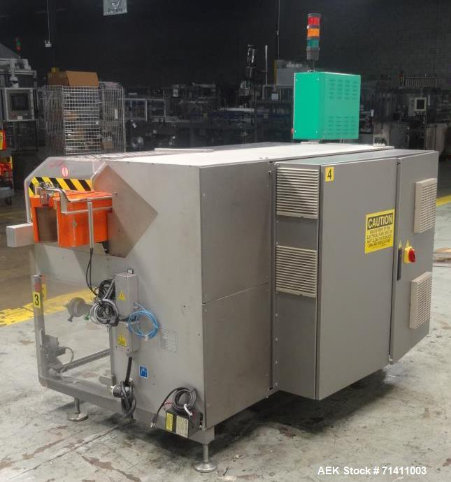 Used- Marchesini MF910 Mini Box Die Fold Overwrapper