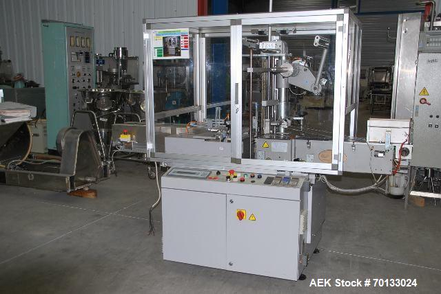 Used-PRB Automatic Cellophane Overwrapper, Model FAR 2001
