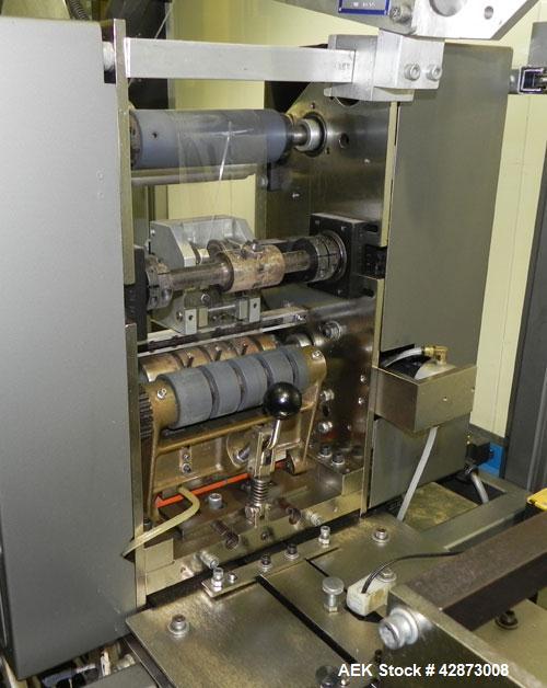 Used- Scandia Turret Overwrapper, Model 712