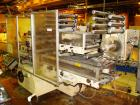 Used-Used: BFB Model 3705 turret style six sided overwrapper capable of speeds from 250 to 300 PPM. Over Wrapper Package Siz...