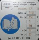 Used- IMA BFB Model 3781B Overwrapper / Multi-Pack Bundler