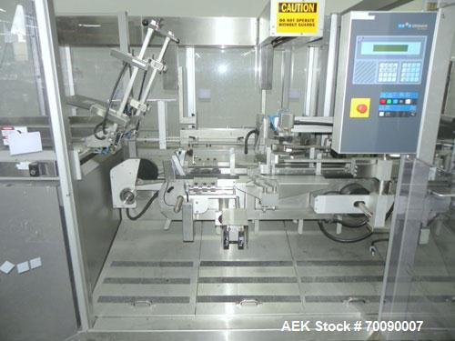 Used- Uhlmann Model E3060 Overwrap Multi-Pack Bundler