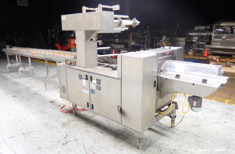 Used- Bosch Doboy Model Linium 301 Horizontal Flow Wrapper.