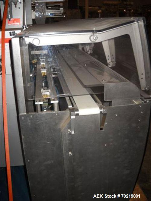 Used- Bosch Sigpack HSL Hermetical Seal, Long Dwell horizontal wrapper capable of speeds up to 350 packages per minute. Pack...