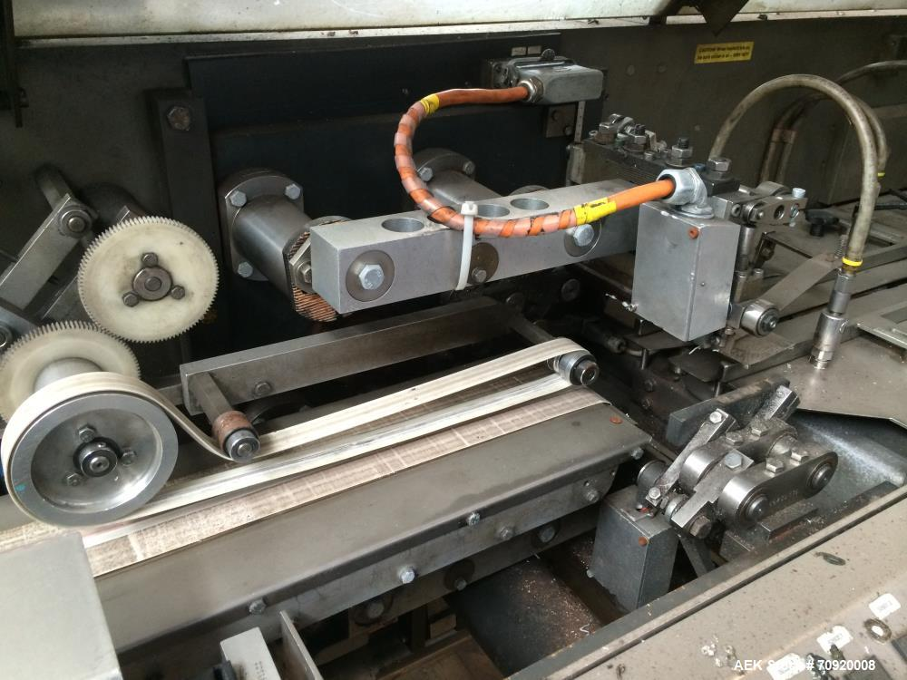Used- Bosch Model HSL Sigpack Extended-Dwell Horizontal Flow Wrapper