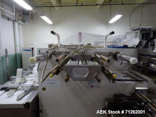 Used- Bosch Sigpack, Model HSM, Horizontal High Speed Horizontal Wrapper