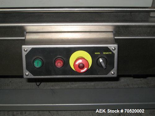 Used-Bosch Model Linium IL-3, three belt servo infeed.