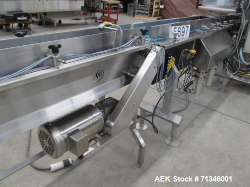 Used- Cambell Revolution Horizontal Stainless Steel Washdown Wrapper. Designed for structured resistance sealed film. (Unuse...