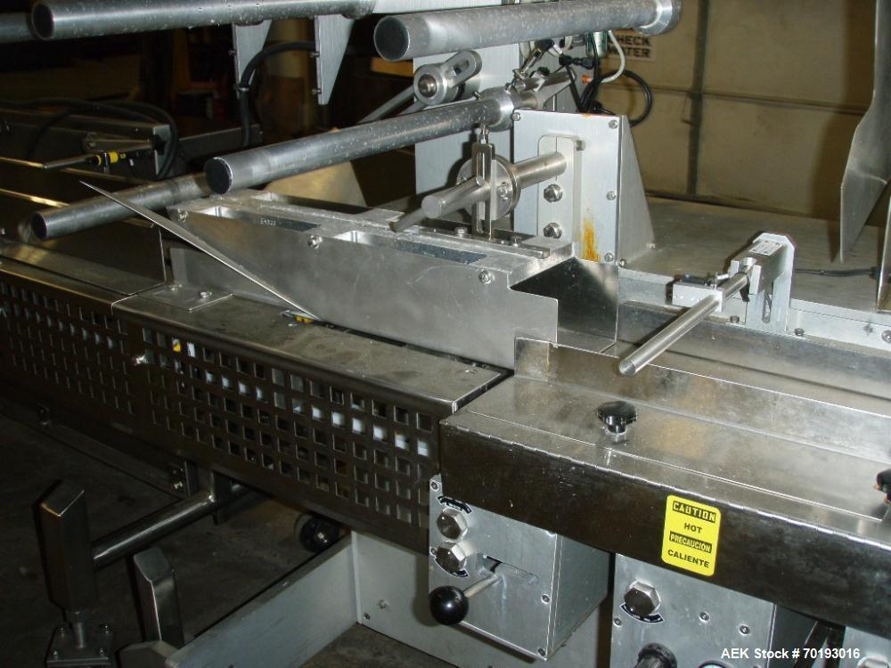 Used- Stainless Steel Delta Hawk Servo Stainless Steel Wrapper