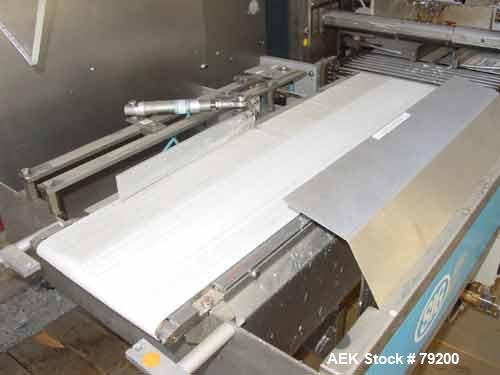 Used- SIG Doboy Flow Wrapper with Separating Infeed, Model HBS