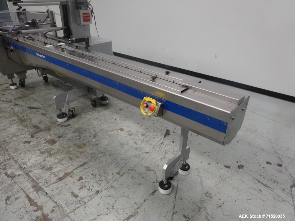 Used- Bosch Doboy Model Linium 301 Horizontal Flow Wrapper