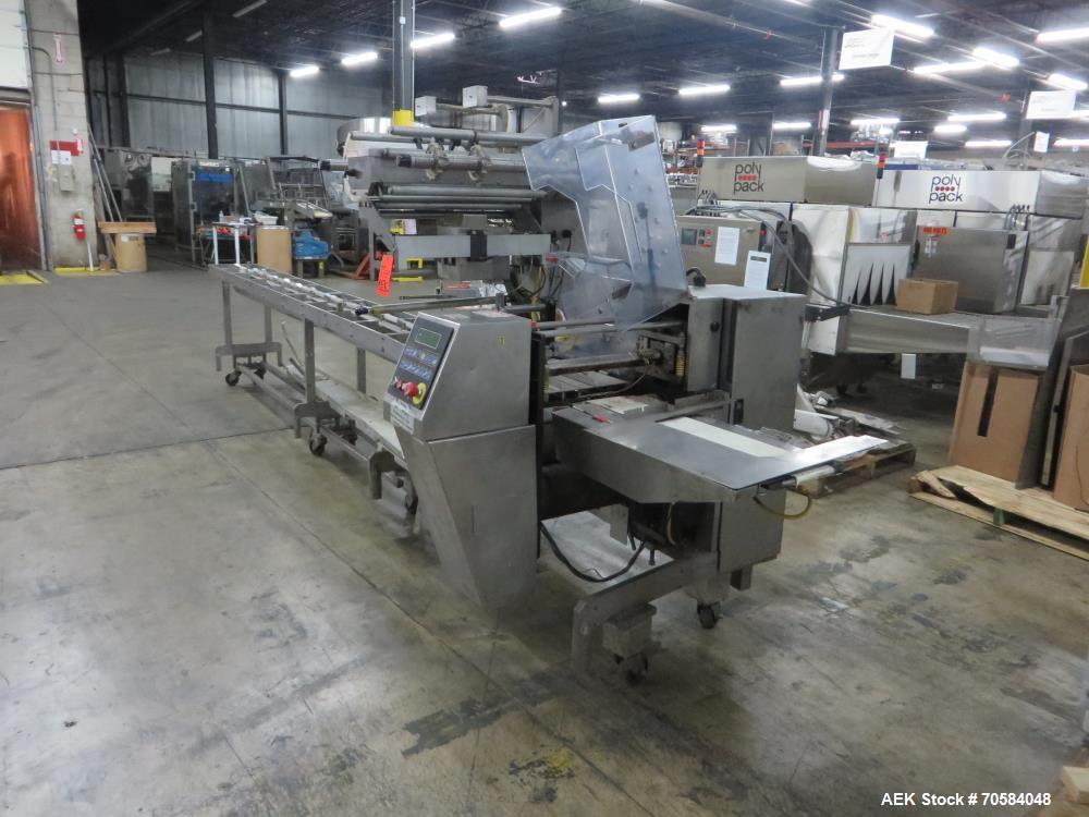 Used-Bosch (Doboy) model Linium 301 horizontal wrapper - Parts machine. Serial #05-26030.