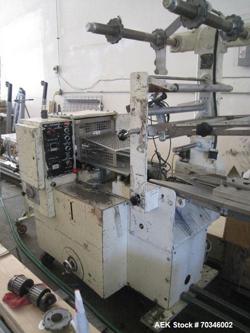 Used-Doboy Model Mustang II Horizontal Flow Wrapper. Machine is capable of speeds up to 150 packages per minute. Machine is ...