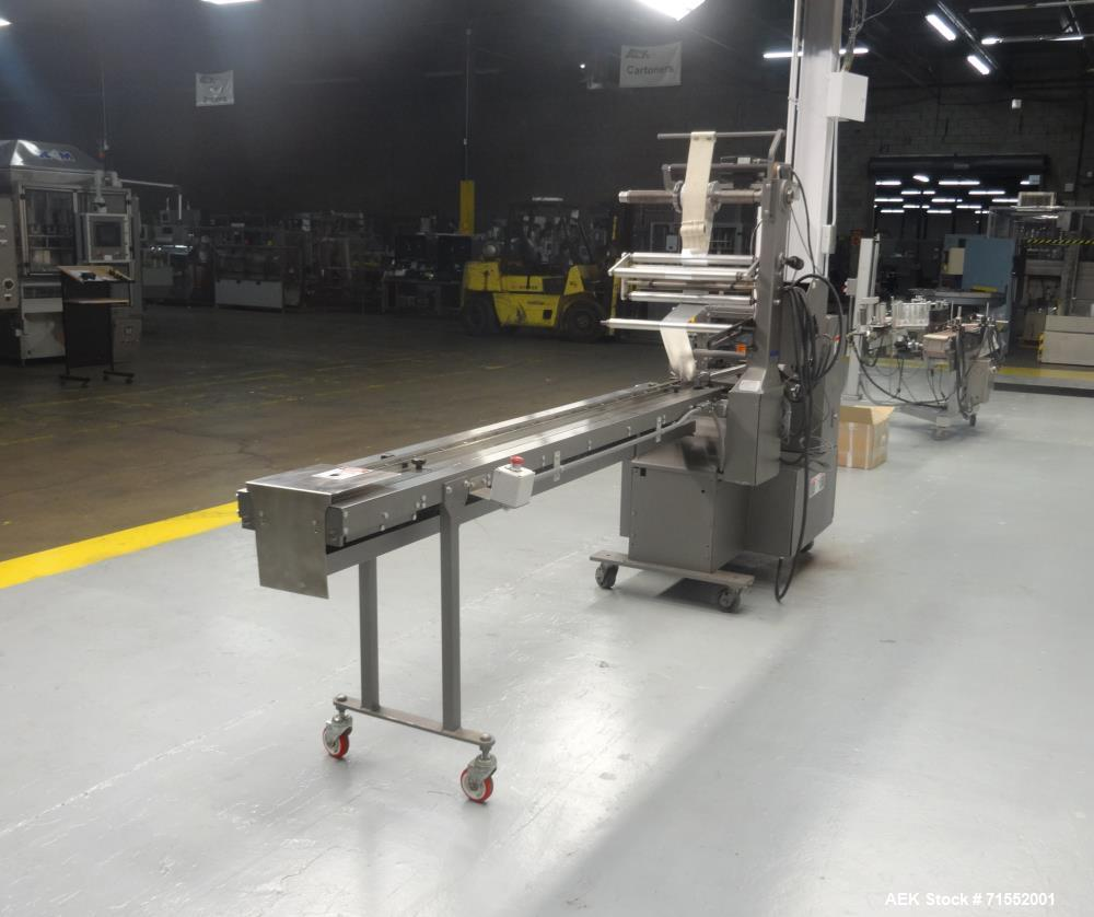 Used- Doboy Horizontal Flow Wrapper, Model: Mustang.