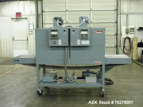 Used- Doboy Scotty II Horizontal Flow Wrapper features a 9 inch single seal jaw, 6 inch lug centers, electric eye and film r...