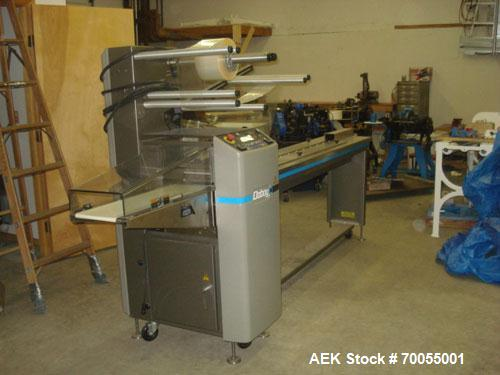 Used- Doboy (Bosch) Horizontal Flow Wrapper, Model Stratus. Machine is capable of 20 to 75 packages per minute. Has two up c...