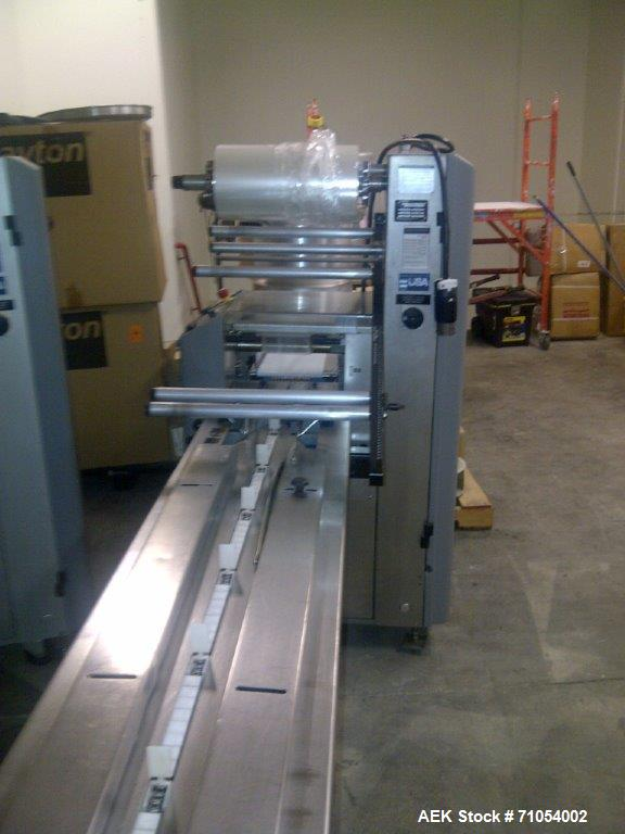 Used-Bosch Doboy Stratus Horizontal Wrapper.  Capable of speeds from 20 to 150 packages per minute. Package size range: (Len...