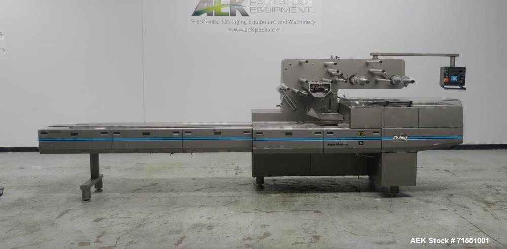Used- Doboy Model Super Mustang B Frame Horizontal Flow Wrapper