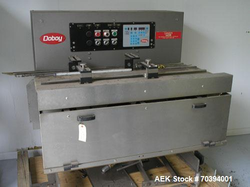 Used-Used Doboy All stainless steel Three Belt feeder only used for approximately three months in production and was taken o...