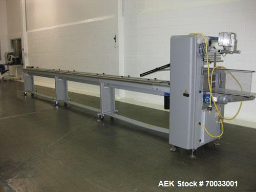 Used-Doboy Stratus Horizontal flow wrapper capable of speeds from 20 to 75 packages per minute (up to 150 PPM with two up he...