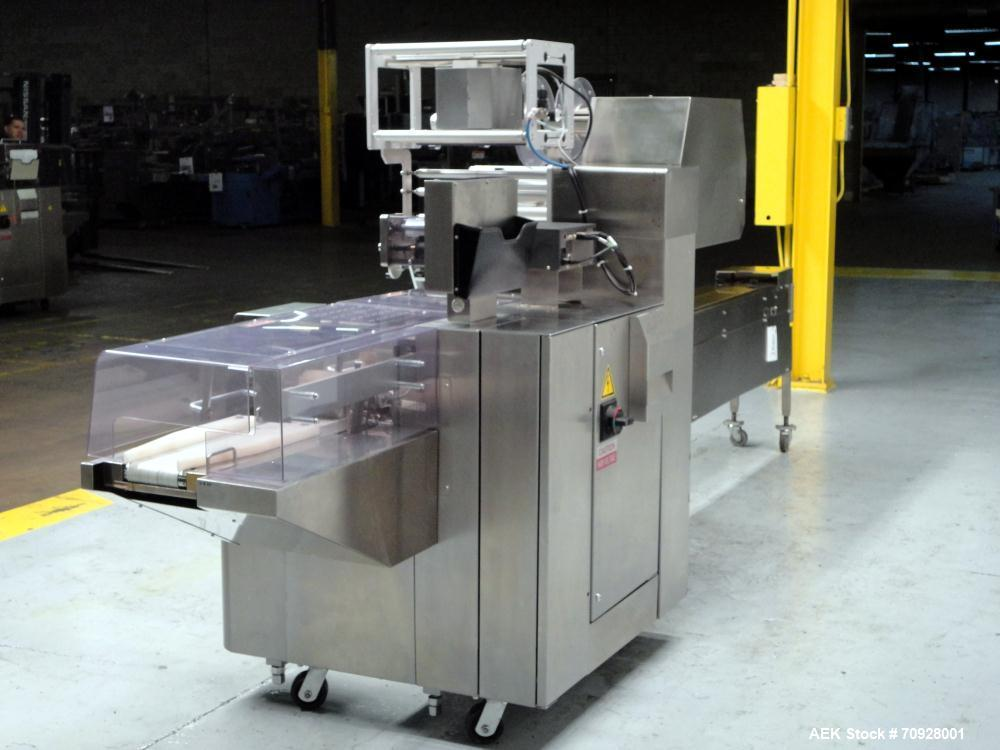 Used- Fuji Model FW3400 Alpha VI Horizontal Wrapper. Built 6/2007. Capable of speeds from 10-300 packages per minute and is ...