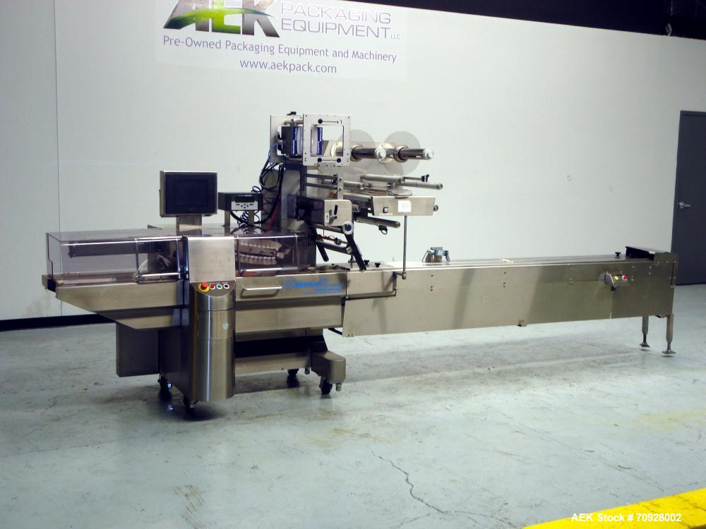 Used- Fuji Model FW3400 Alpha VI Horizontal Wrapper. Built 3/2005. Is capable of speeds from 10-300 packages per minute and ...
