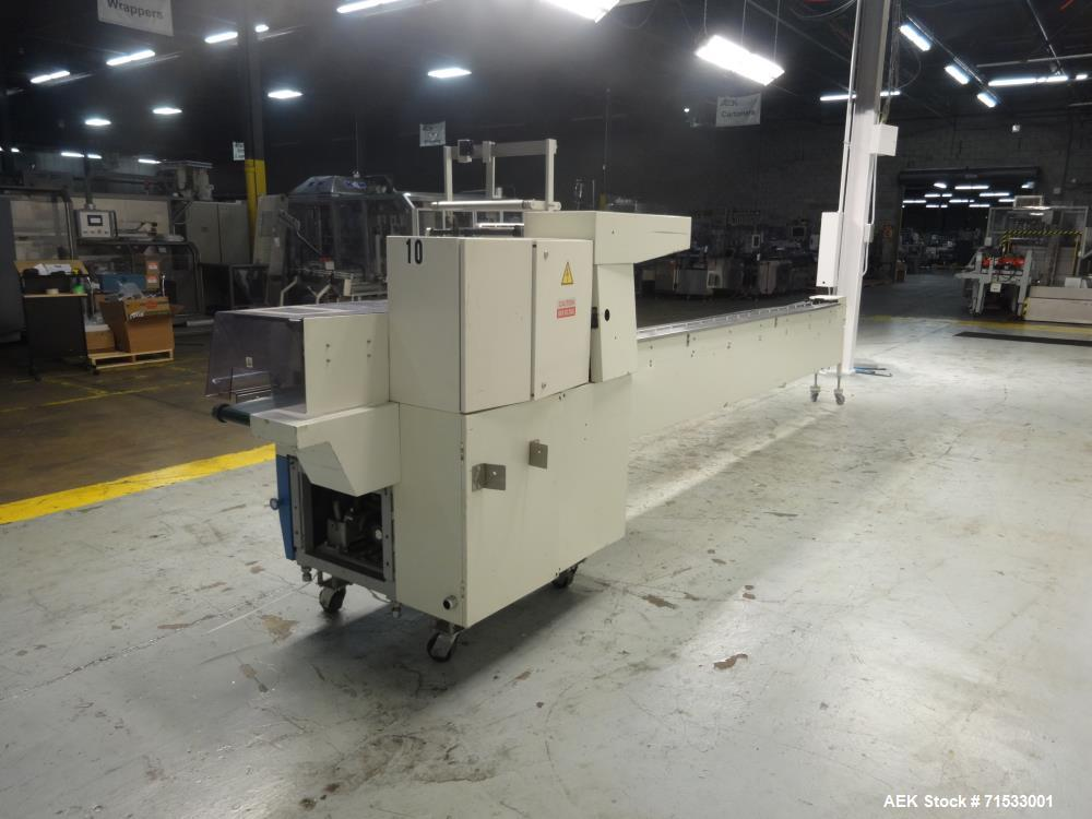 Used- Fuji Formost Machinery Model FW-340M2 Horizontal Form Fill Seal Wrapper