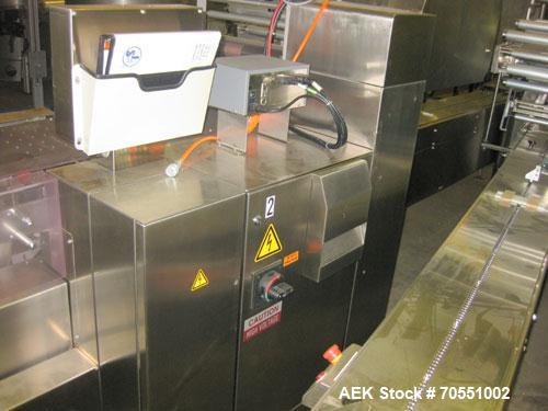 Used- Fuji Model FW3400 Alpha VI Horizontal Wrapper capable of speeds from 10-150 packages per minute as configured 1 up. Pr...
