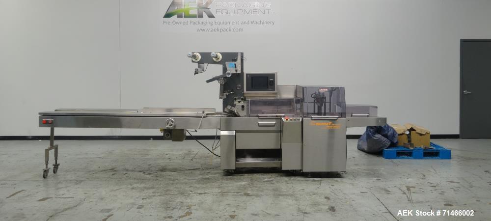 Used-Fuji Formost 3710-B Horizontal Box Motion Long Dwell Wrapper