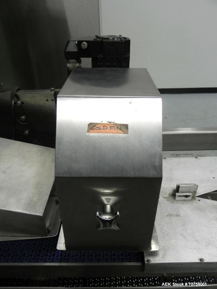 Used- George Gordon Accuwrap Inverted Seal Horizontal Servo Flow Wrapper