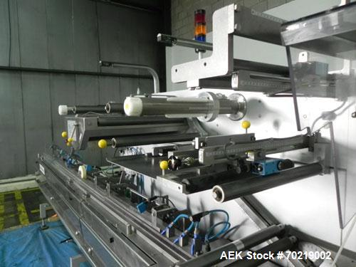 Used- Bosch Sigpack HSL Hermetical Seal, Long Dwell horizontal wrapper, Capable of speeds up to 350 packages per minute. Pac...