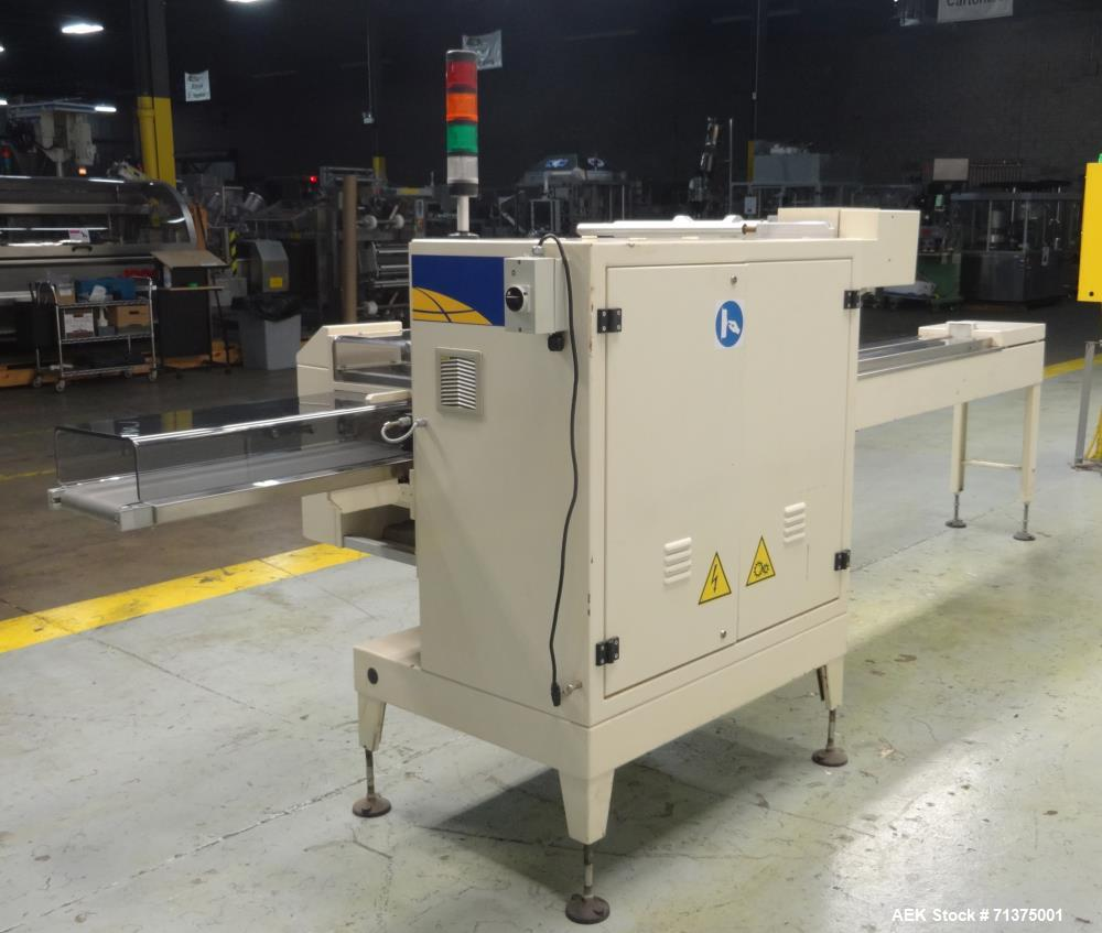 Used- Ilapak Model Carrera 1000 PC Automatic Horizontal Flow Wrapper