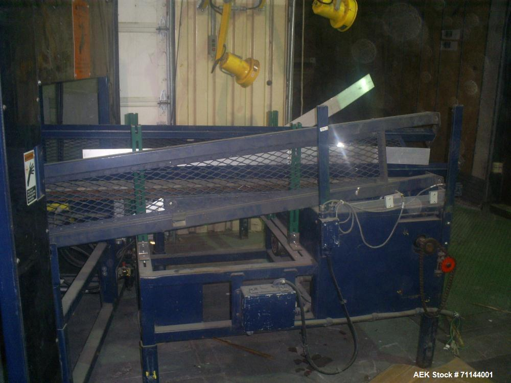 Used- Lantech Ring Wrapper, Model LR-4000