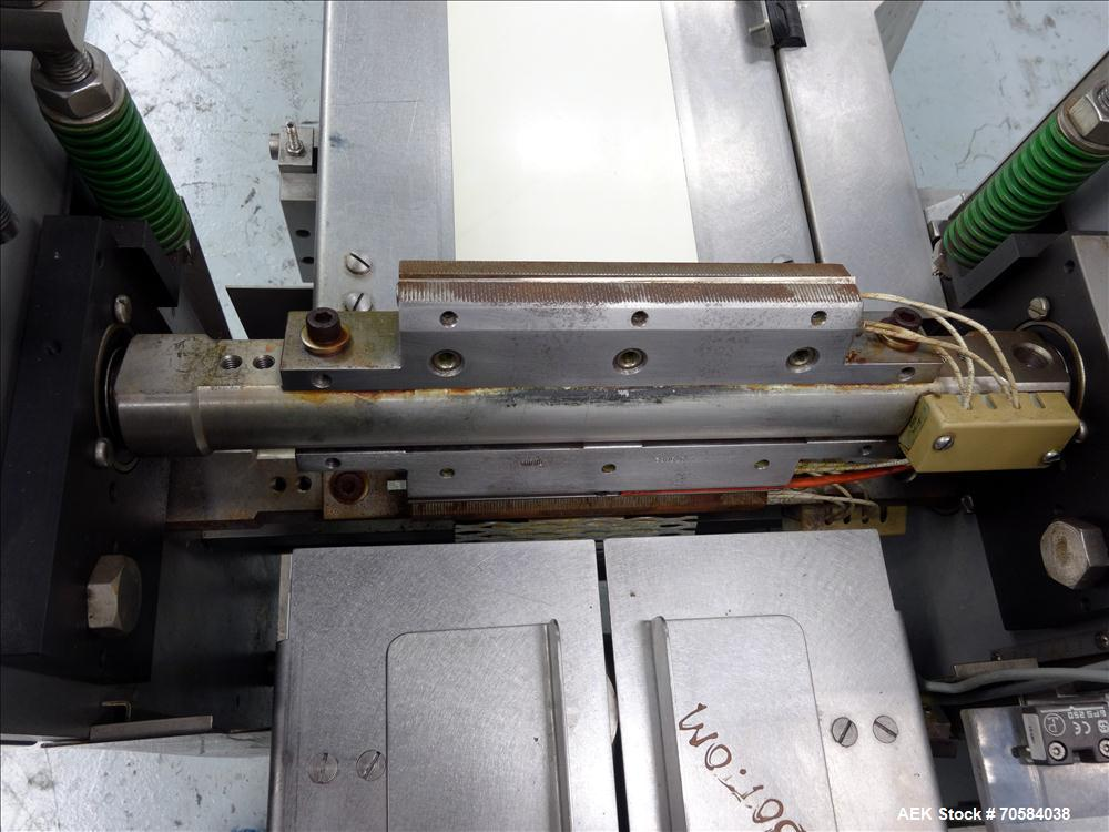 Used-Doboy (Bosch) Linium 301 Horizontal wrapper. 230V/3PH/60HZ.