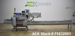 Used- Ilapak Model Carrera 1000/40 Automatic Horizontal Flow Wrapper