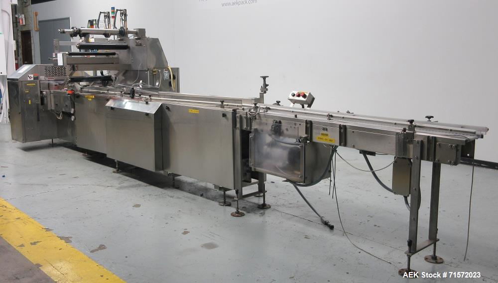 Used- Campbell Packaging / FMC WS20-II L.H. Series II Horizontal Flow Wrapper.