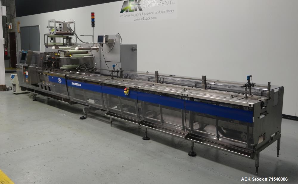 Used- SIG Model HBL/FBP Horizontal Flow Wrapper
