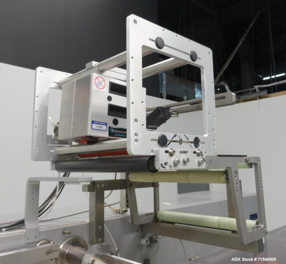Used- SIG Model HBL Horizontal Flow Wrapper for Hermetic Packaging.