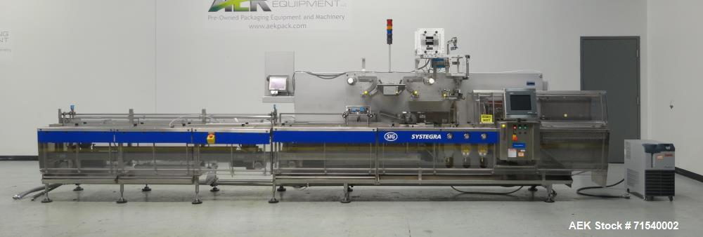 Used- SIG Model HBL Horizontal Flow Wrapper for Hermetic Packaging