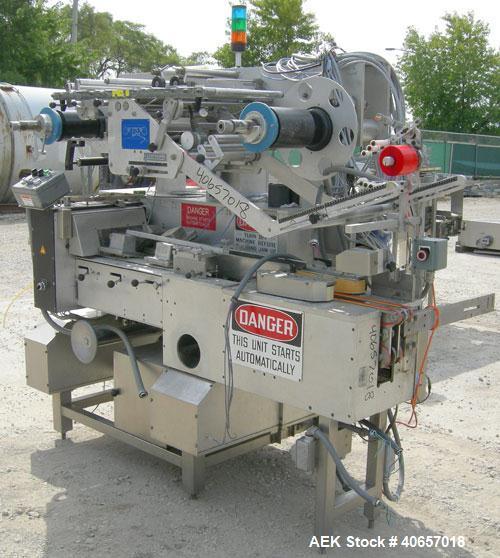 Used- TevoPharm Flow Wrapper, model P5-HS-L