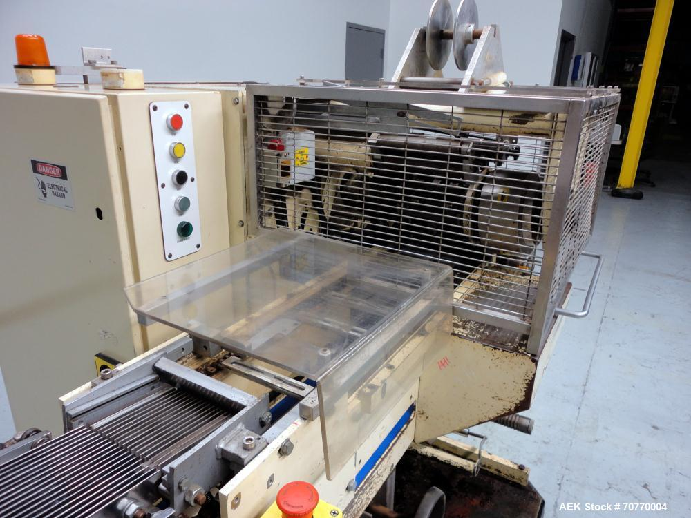 Used- Autowrappers S-3000 Automatic, Intermittent Motion, Roll Wrapping Machine