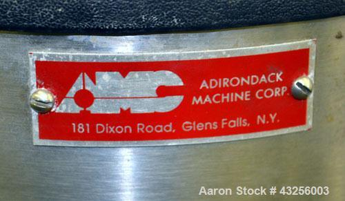Used- Adirondack Machine Formax High Consistency Laboratory Pulper, Model 450H, Catalog# N-100V, 316 Stainless Steel.Capacit...